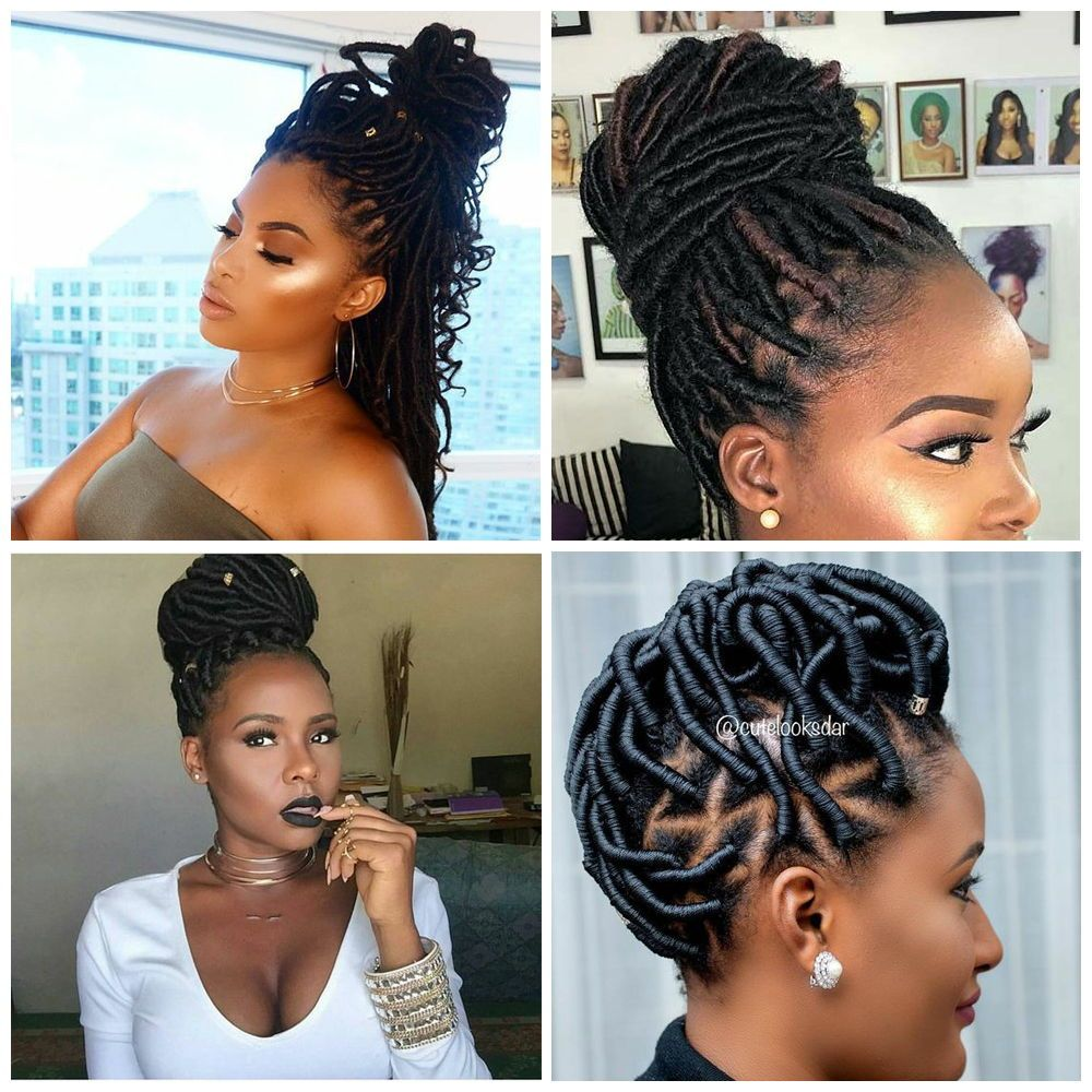 Updo Hairstyles For Black Women The Improvised Designs Curly Craze Hair Styles Cornrow Updo Hairstyles Black Women Hairstyles