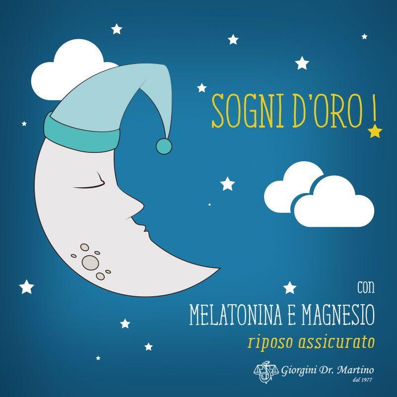 Vi è mai capitato di essere stanchi ma di non riuscire ad addormentarvi? È normale, perché tra i principali fattori che possono causare una difficoltà a #dormire c'è proprio lo #stress. Un aiuto può arrivare da MELATONINA E MAGNESIO del Dr. Giorgini: la #melatonina favorisce la riduzione del tempo necessario per addormentarsi, mentre il magnesio contrasta la stanchezza e favorisce le normali funzioni psicologiche…