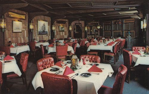 Dark, Moody And Sophisticated Vintage Nautical Theme Restaurant Interior  Decor At St. George U0026