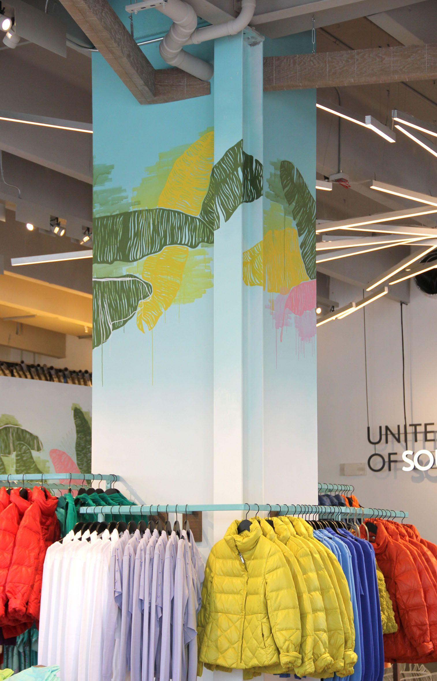 United Colors Of Benetton Flagship Store Miami Florida Retail Design
