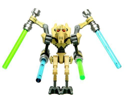 Lego Star Wars General Grievous Clone Wars /& 4 Lightsabers 8095 9515 **New**