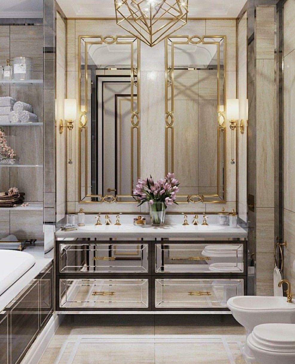 12+ Striking Classic Wall Mirror Entryway Ideas | Stylish