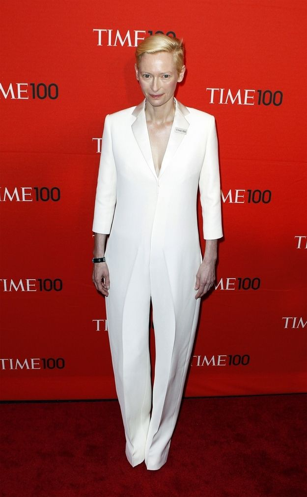 Also, she can wear all-white without looking like she broke out of a mental ward.   20 Reasons Why Tilda Swinton Is The Most Fashionable Person Of Our Time