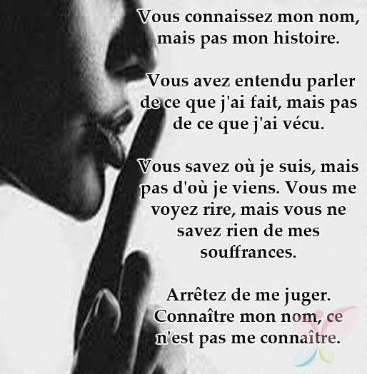 Croire Les Paroles Dun Dupeur Et Me Juger Ce Nest Pas Me