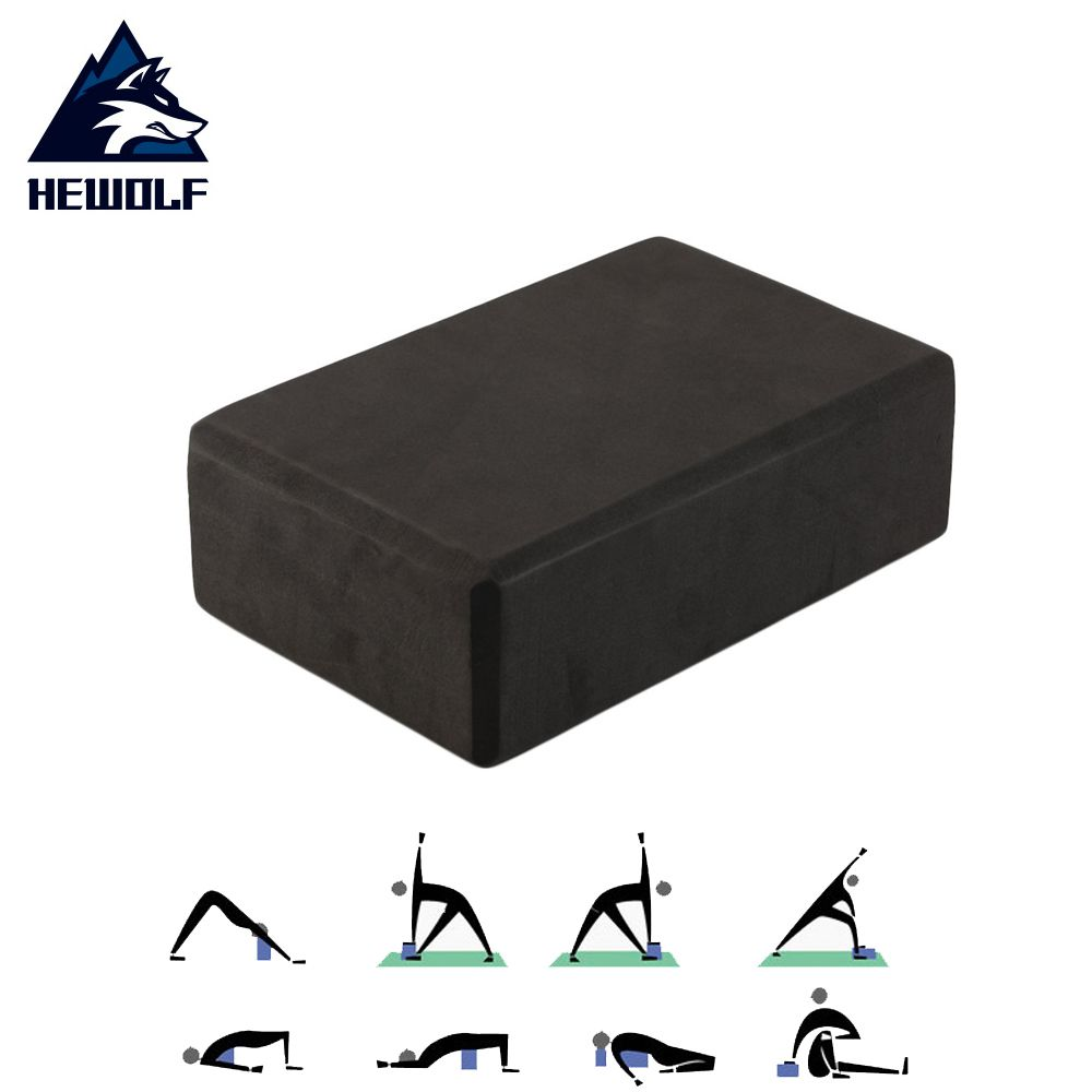 b60fe57d567a7 EVA Yoga Block Brick Pilates Sports Exercise Gym Foam Workout Stretching  Aid Body Shaping Health Training Equipment 3 Colors Hot