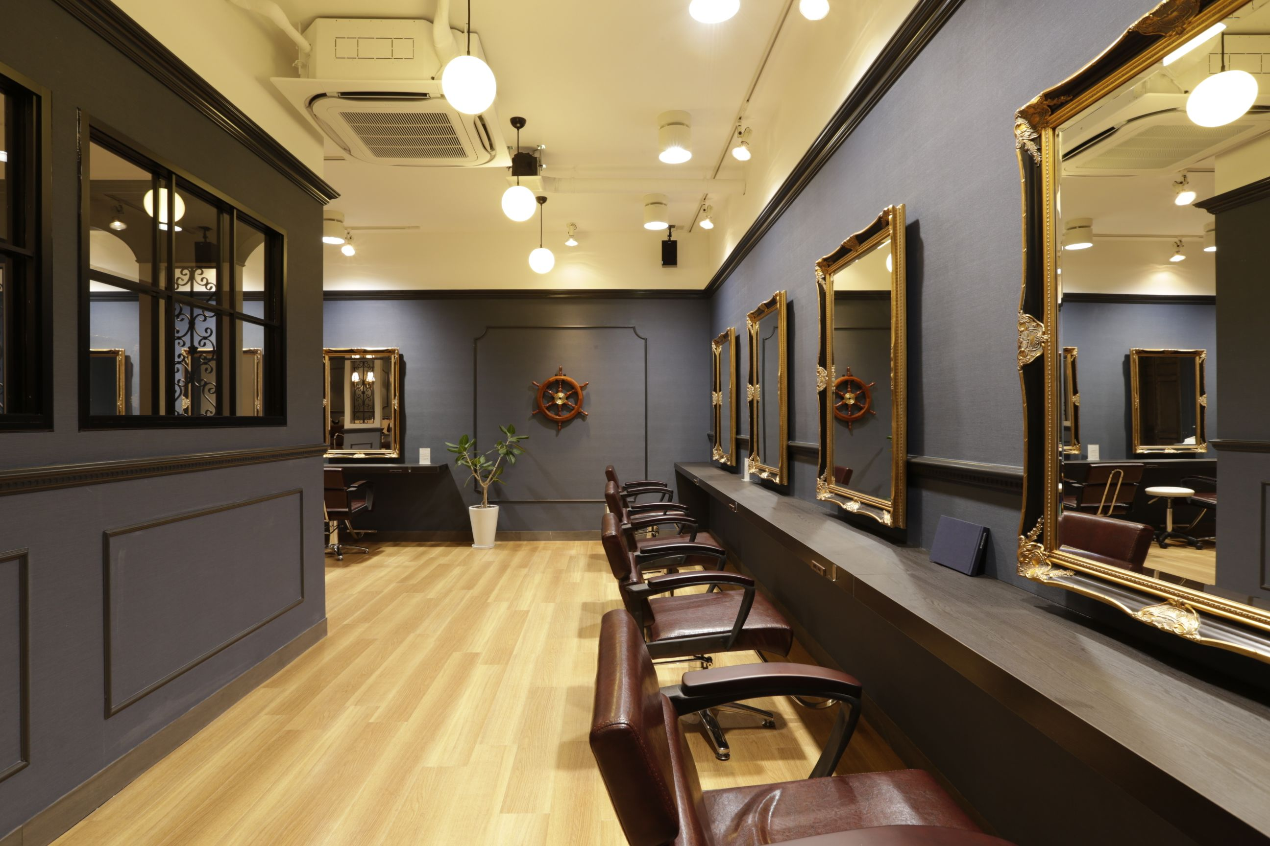 Salon Space Rennes Pin By Chris On Revived Decor Hair Salon Interior Beauty Salon