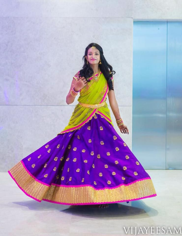 HappyClient: Happy clients are the prettiest!! Divya having a twirl ...