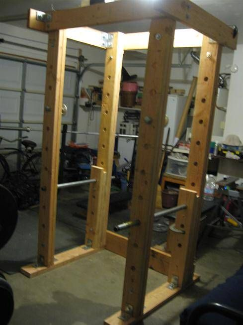 Homemade Power Rack Photos Of Racks Built By Readers This Site