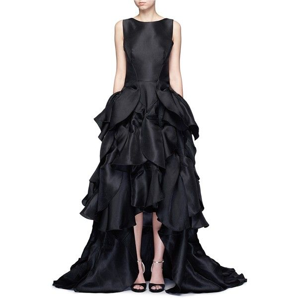 ruffle embellished dress - Black Maticevski Official Site Cheap Price Recommend Cheap Sale Original p5EB7h