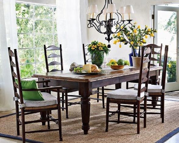 Farmhouse Table Home Decor Pinterest Farmhouse Table Country - Rectangular farm dining table