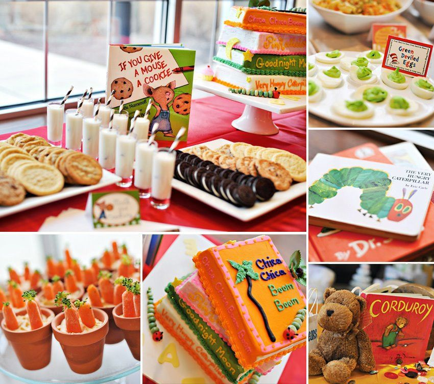 Baby themed Food for Baby Shower