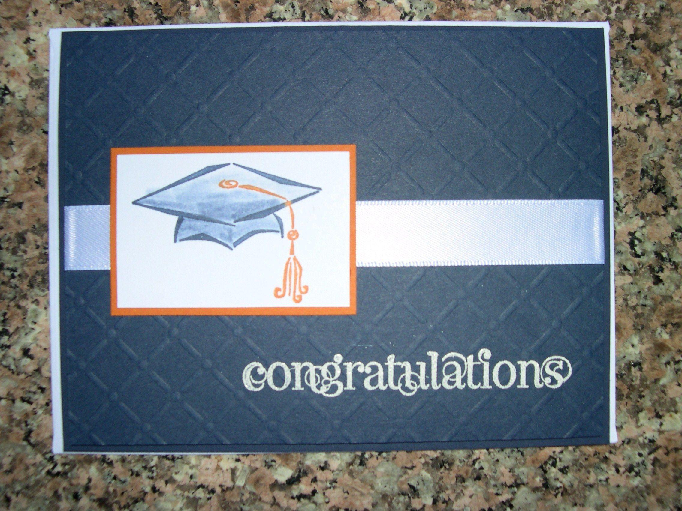 Tassel Time; invitation sample stampin up card   Graduation/Senior ...