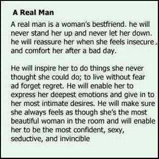 What men should do for women