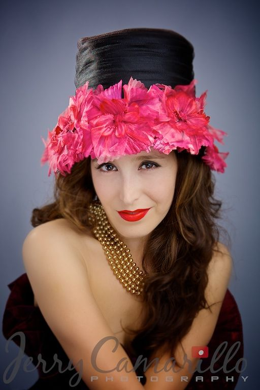 Vintage hat and clothes Pasadena/Jerry Camarillo Photography