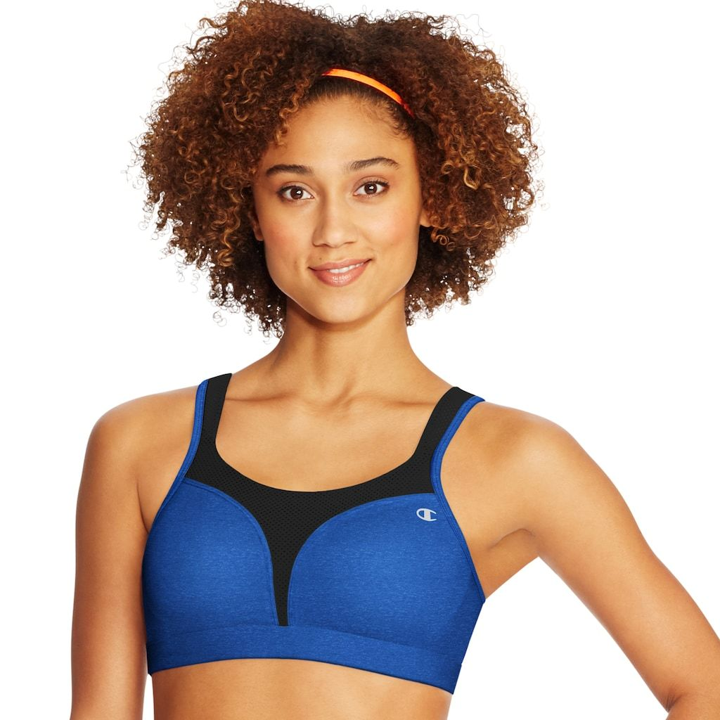 d59707bbddb Champion Spot Comfort Double Dry High-Impact Sports Bra 1602 ...