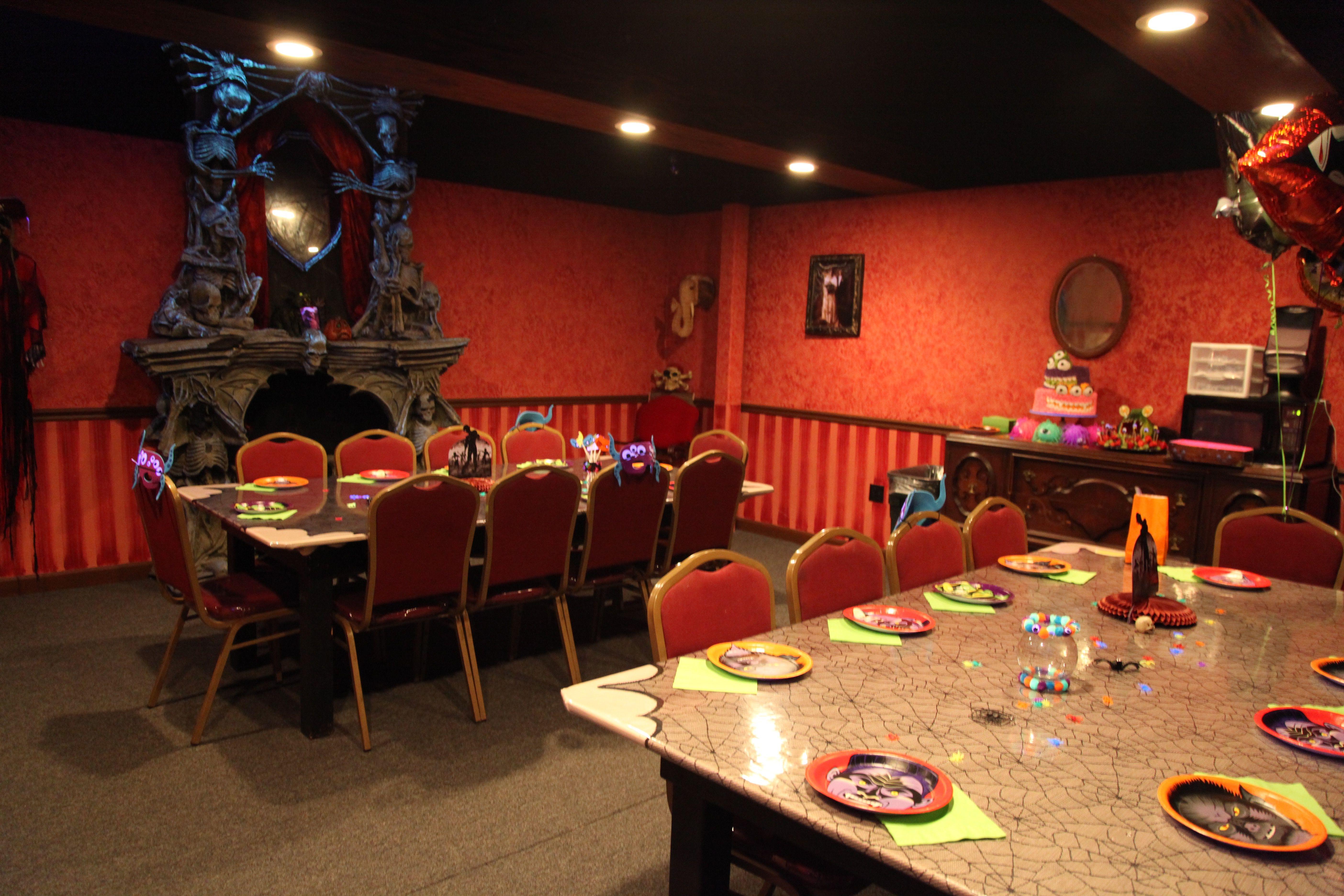 Monster Mini Golf Monster Birthday Party Room Table Decor