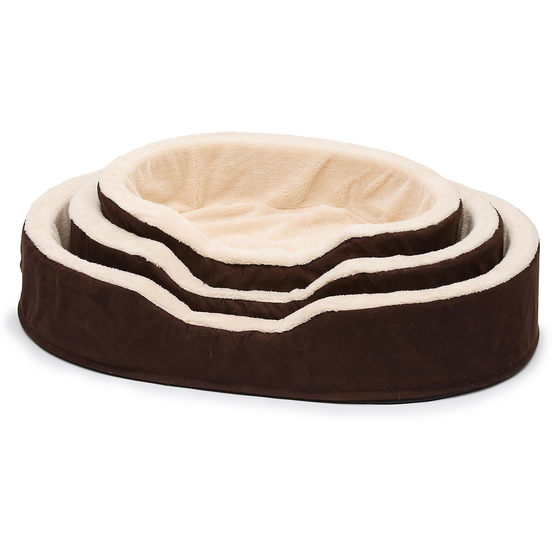 Petco Brown Amp Tan Orthopedic Lounger Dog Bed Orthopedic