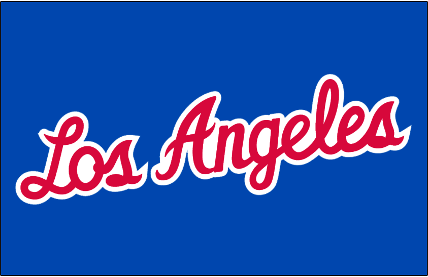 Los Angeles Clippers Jersey Logo Los Angeles Clippers Los Angeles Logos