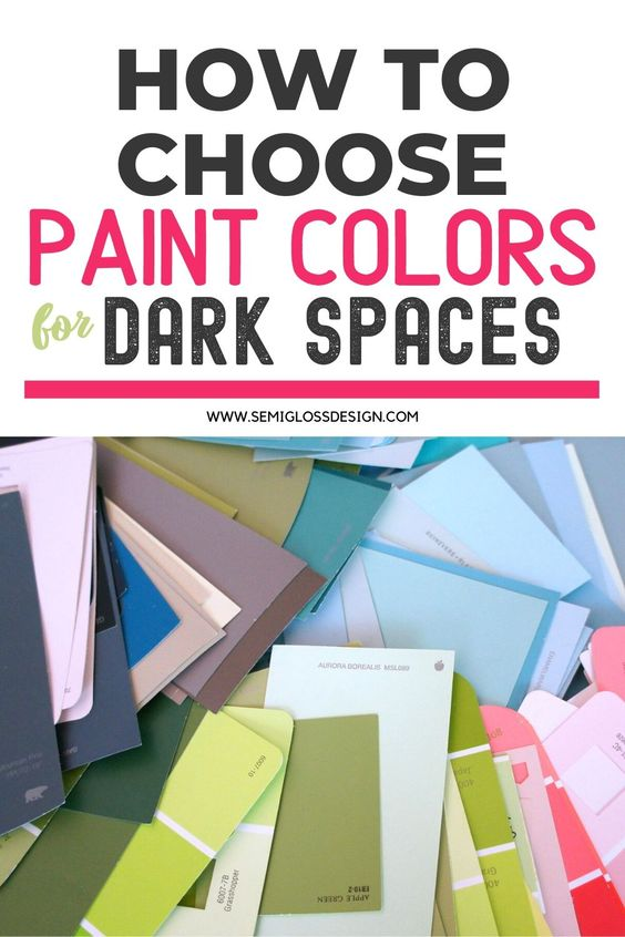 Make Dark Rooms Look Brighter by Choosing Colors with High ...