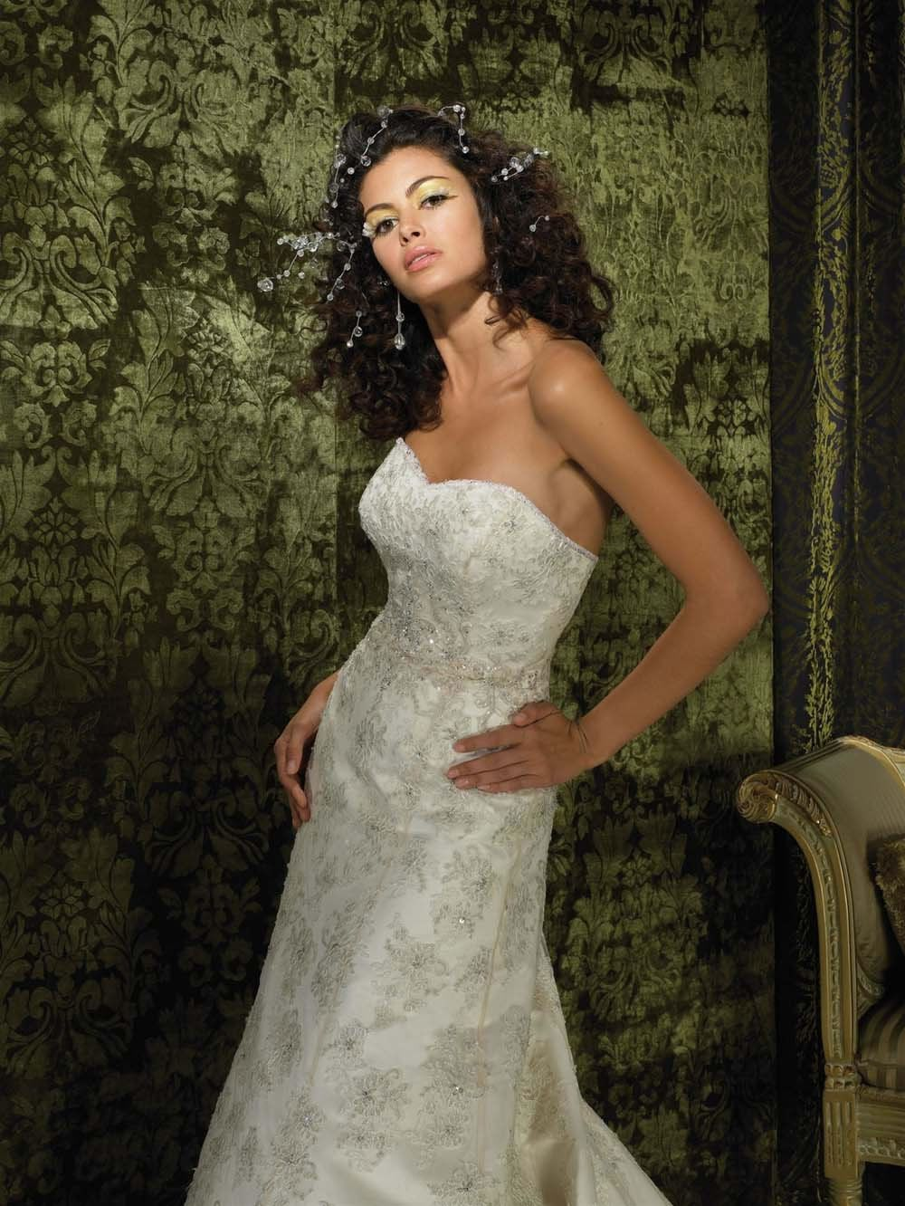 Allure Bridals Wedding Dress 9304 Size 12 New With Tag Never Worn