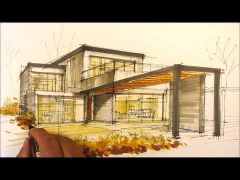 Arkitektur arkitektur sketch : 1000+ images about Promarker Arkitektur on Pinterest | Sketching ...