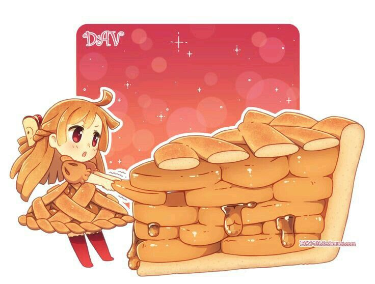 Gateau girl food pinterest chibi kawaii and anime for Decoration cuisine kawaii