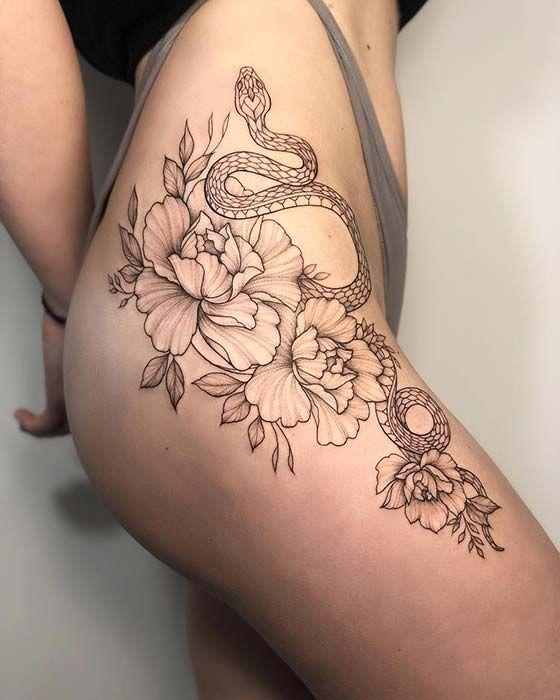 Photo of 23 idées de tatouage de serpent Bold and Badass pour les femmes