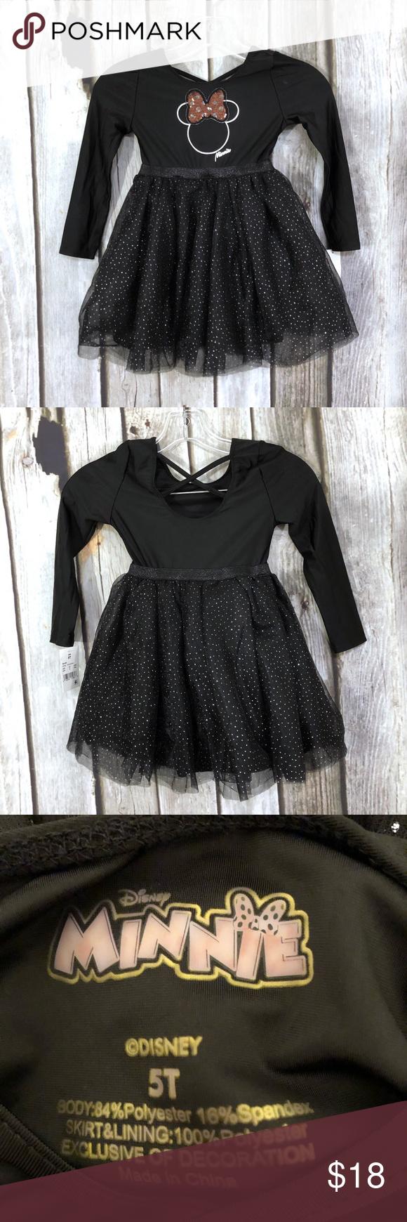 Disney Minnie Mouse Black Tutu Dress Tulle Tutu Dress Black Tutu Tutu Dress [ 1740 x 580 Pixel ]