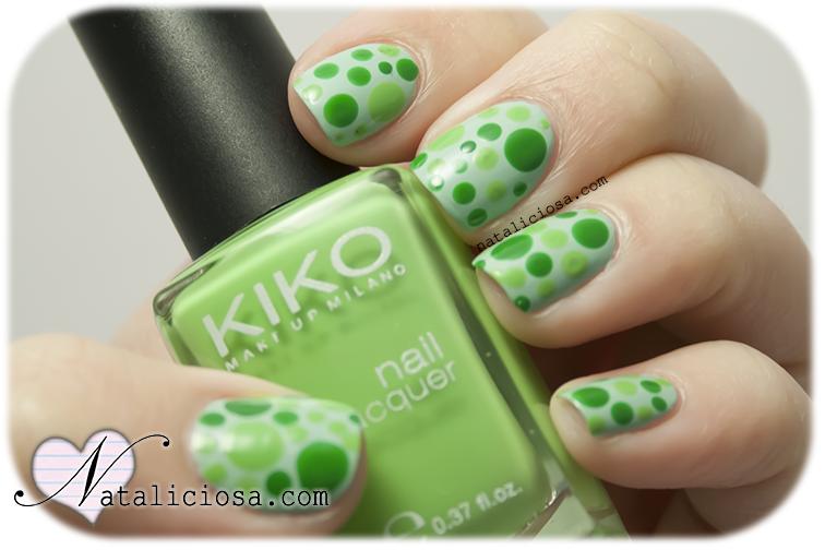 Uñas de puntos ¡fácil! | Nails | Pinterest | Puntos, Decoración de ...