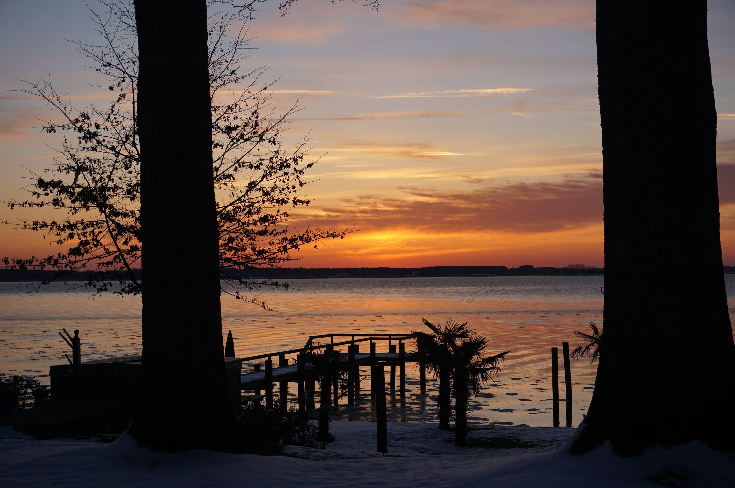 Cobb island md sunrise on cobb island md island