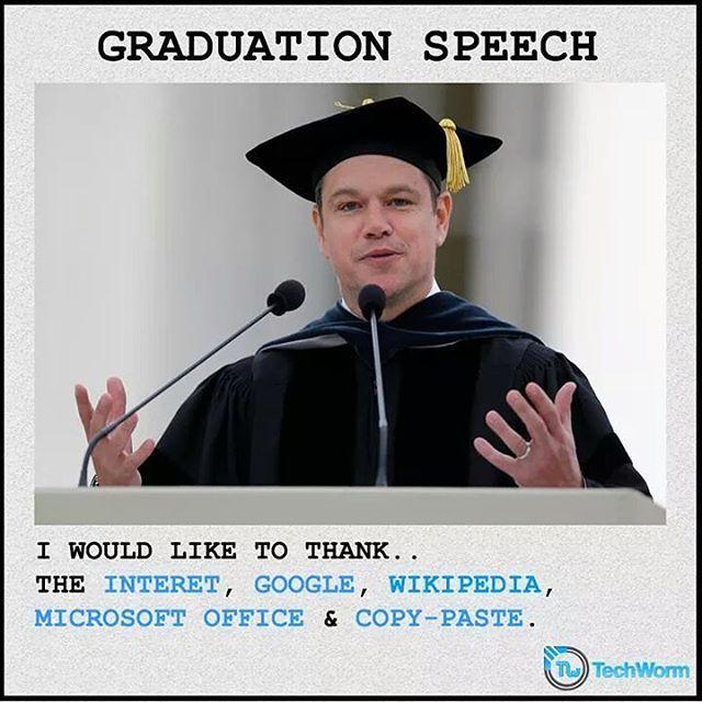 Graduation Speech Programmer Programming Coding Code Coder
