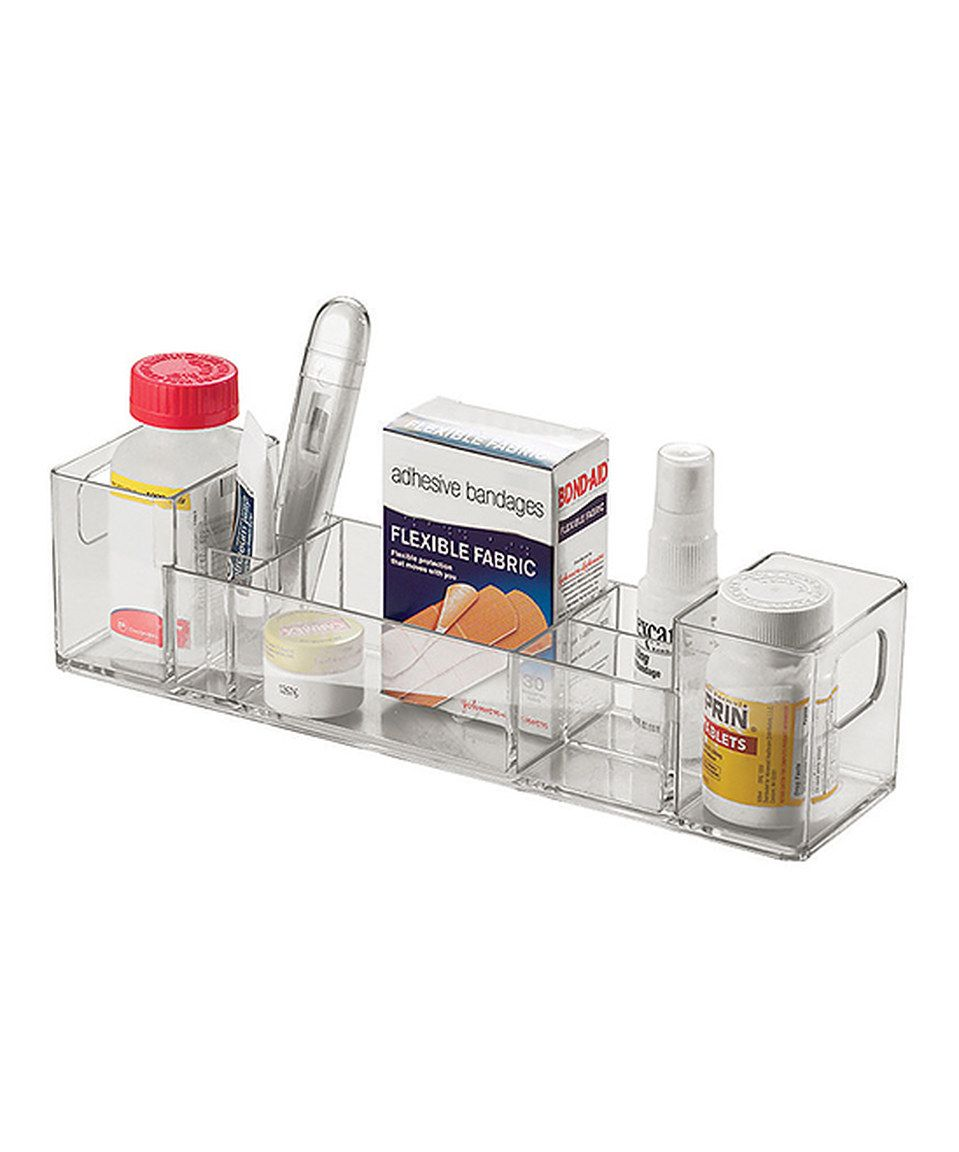 Take a look at this InterDesign Clear Medicine Cabinet Organizer ...