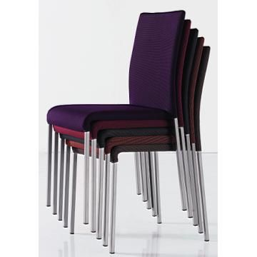 Stackable Dining Chair Modern Metal Banquet