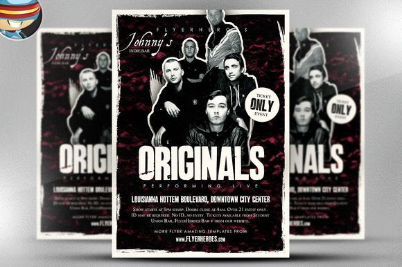 Rock Band Flyer - Templates by Canva