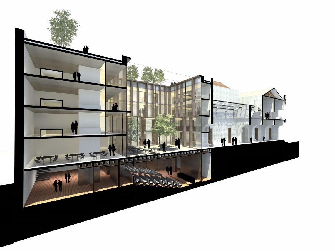 Segundo Lugar Concurso Recuperación y Puesta en Valor del Monumento Histórico Palacio Pereira / Prado Arquitectos