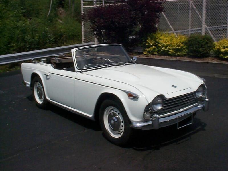 1963 Triumph TR4 Classic cars, Triumph, Easy birthday