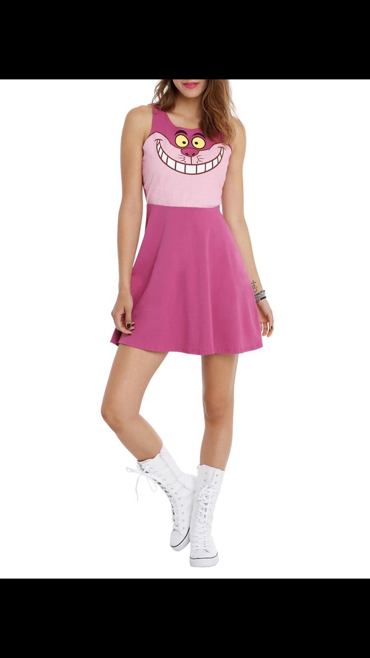 18d05714f #hottopic #aliceinwonderland #cheshirecat Hot Topic Clothes, Alice In  Wonderland, Skater Skirt