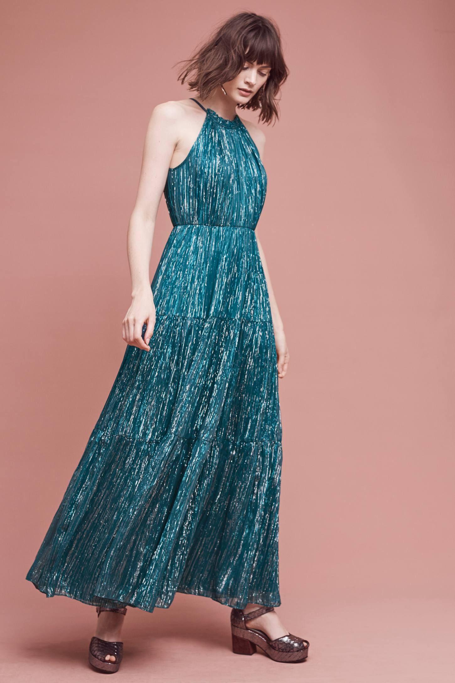 Celestial Halter Gown