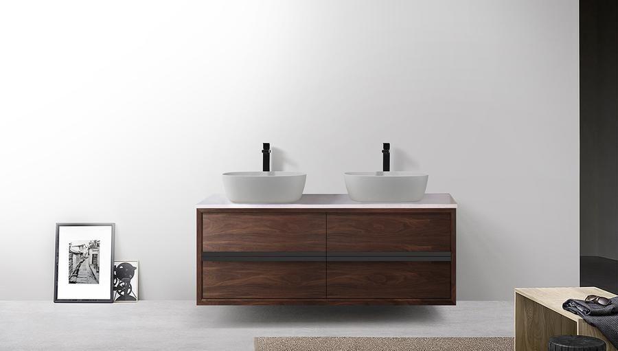 26++ Wall mounted bathroom cabinet dark walnut custom