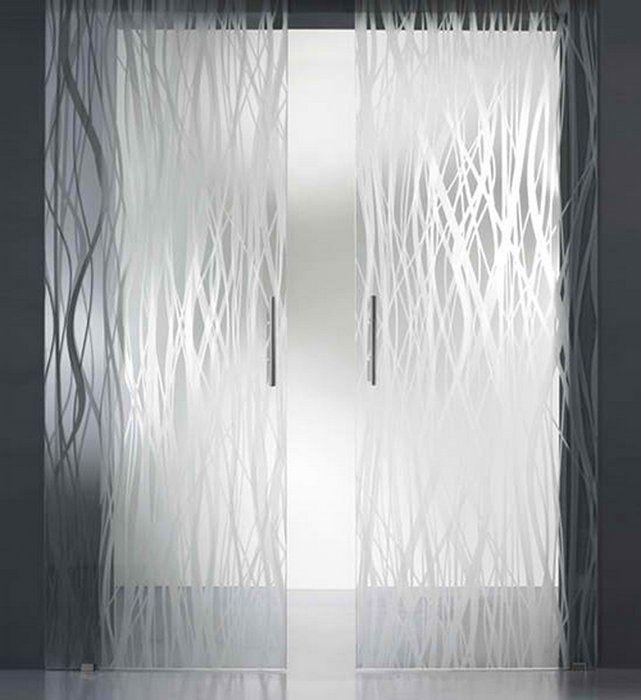 frosted shower door ideas