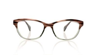 5060a7697d3 Claire Goldsmith Ellis 2 Green Sea Bed Glasses at OCO