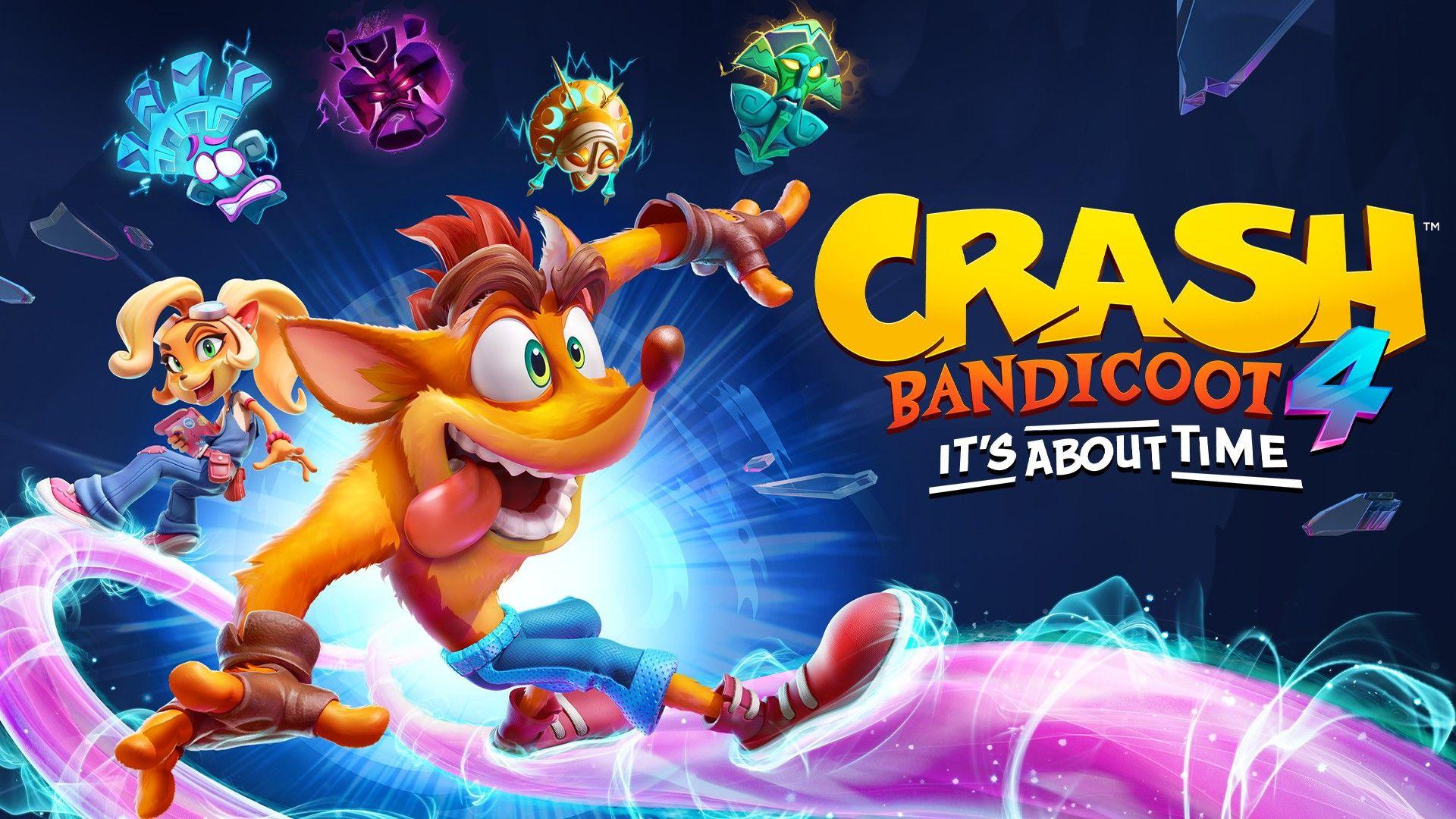 Crash Bandicoot 4 It S Time Launched A New Crash Bandicoot Game Xbox Wire Crash Bandicoot Bandicoot Crash