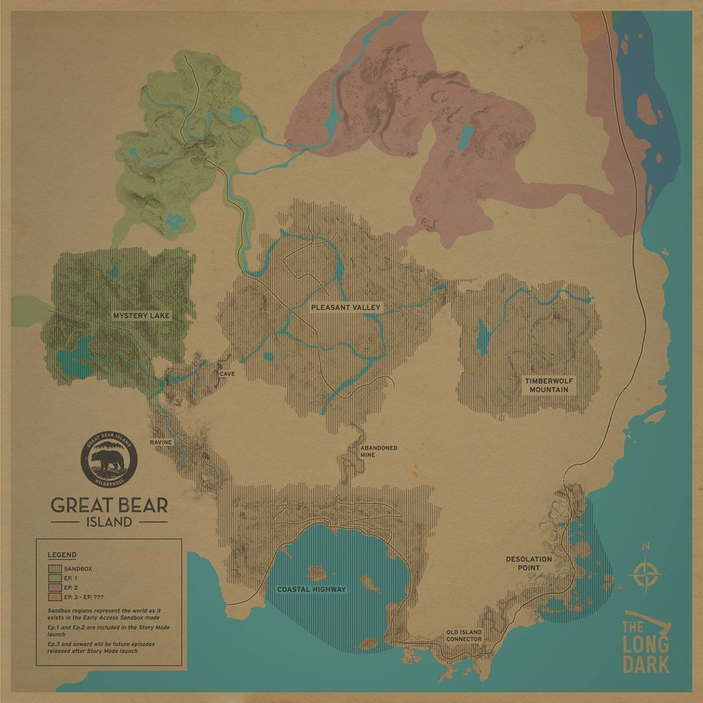 Steam Community :: Guide :: Detailed Region Maps - The Long