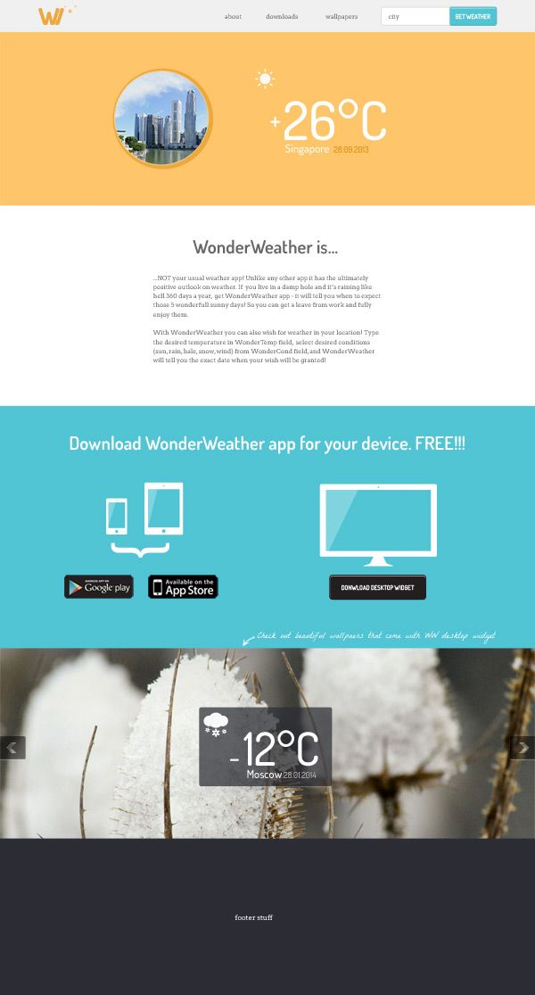 Simple Responsive Html Template Graphic Design Pinterest
