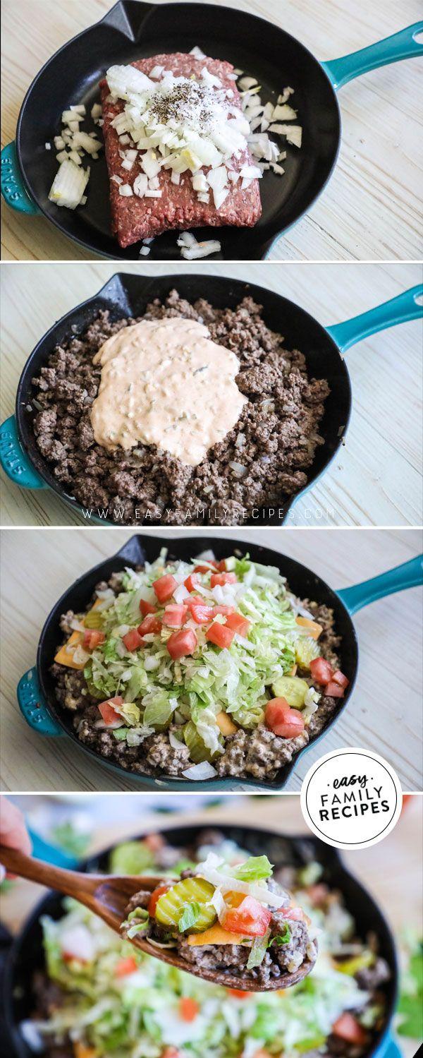 Big Mac Skillet · Easy Family Recipes