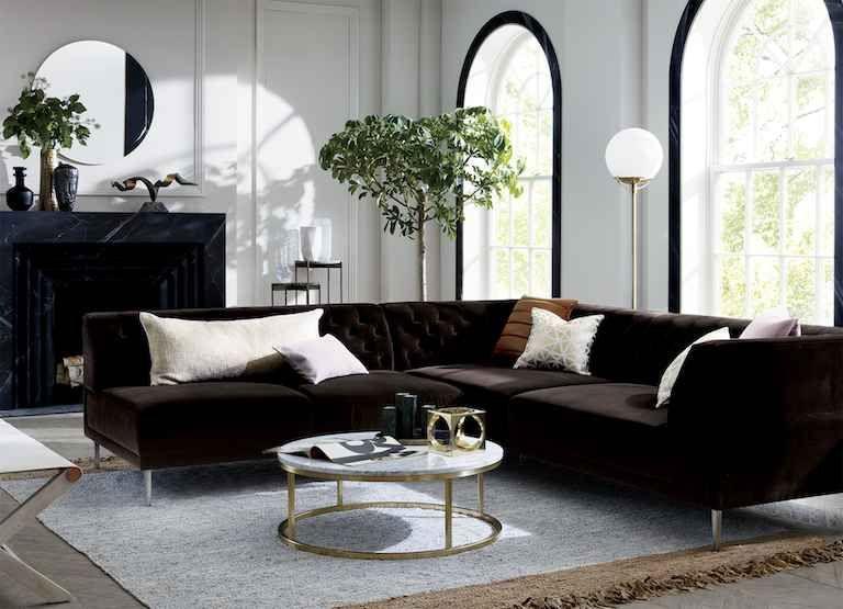 Modern Home Decor Ideas Cb2 Living Room Designs Trendy Living