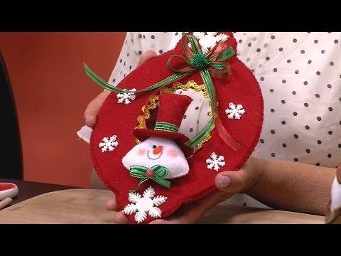 C mo hacer un picaporte navide o hogar tv por juan - Youtube manualidades para el hogar ...
