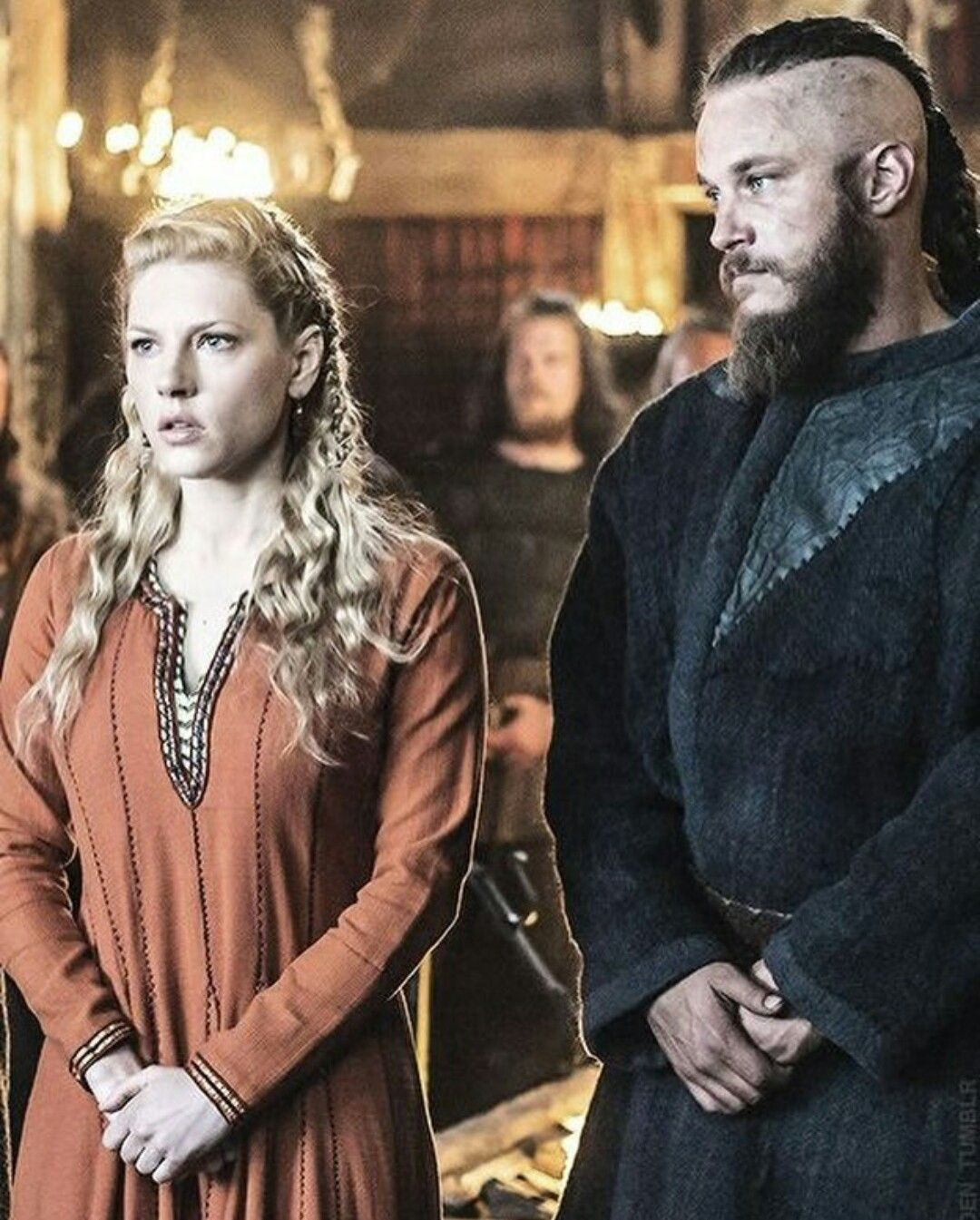 Image result for Ragnar Lothbrok andLagertha ~ Vikings