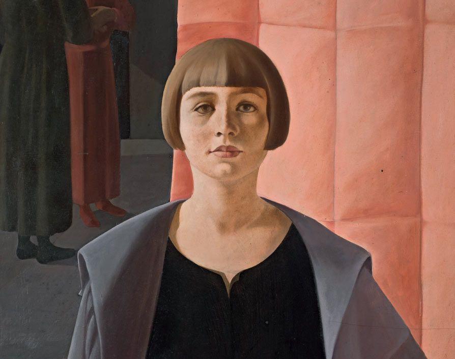 retorno-belleza Felice Casorati Ritratto di Renato Gualino [Retrato de Renato Gualino], 1923-1924 (detalle).jpg (894×706)