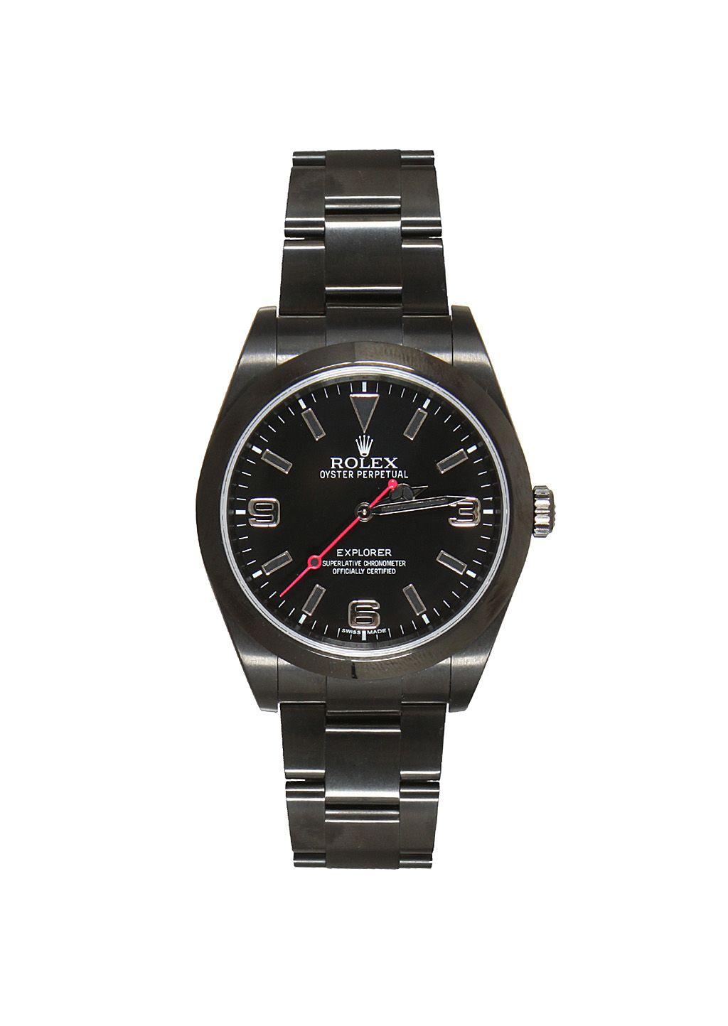 Customized watches Watches :: Rolex Explorer customized watch | Montaigne Market